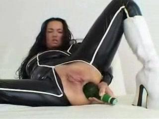 Extreem anal en vaginaal mastuberen
